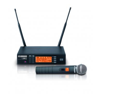 LD Systems WS 1000 G2 HHD - Funkmikrofon System mit Handmikrofon dynamisch