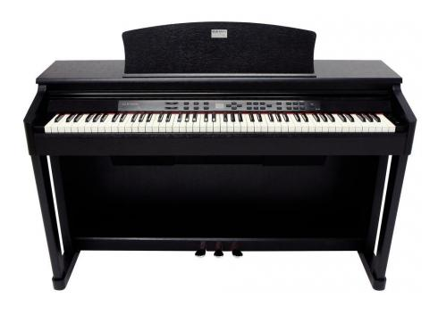 Gewa Digitalpiano DP 180 Schwarz matt