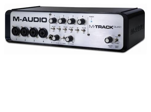 M-AUDIO - M-Track QUAD