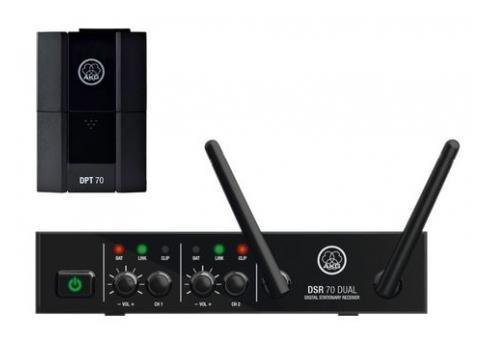 AKG DMS 70 DR Instrument Dual Set