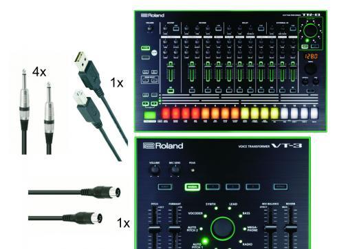 Roland Aira Rhythm Voice Set