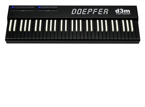 Doepfer d3m Organg Master Keyboard inverted