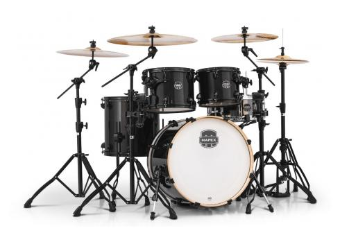 Mapex Armory Shell Set Transparents Black inkl. Hardware