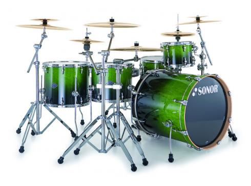 Sonor Essential Force S Drive Set Green Fade