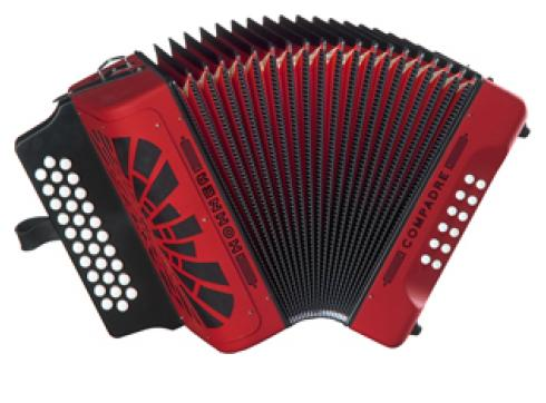 Hohner Compadre ADG rot