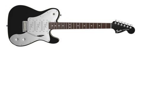 Fender J5 Triple Tele Deluxe RW Black