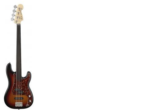 Fender Tony Franklin Fretless Percision Bass Sunburst