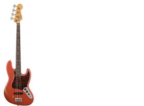 Fender Road Worn 60s Jazz Bass RW Red