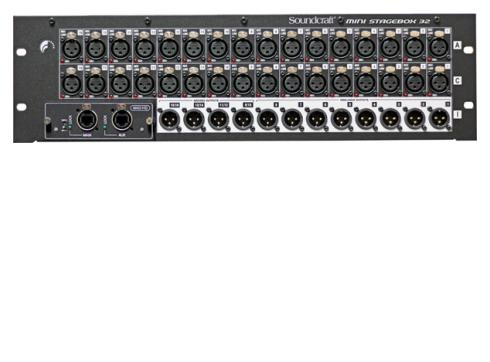 Soundcraft Mini Stagebox 32 RJ 45