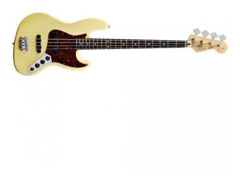 Fender Deluxe Jazz Bass Vintage White - Kundenrücknahme