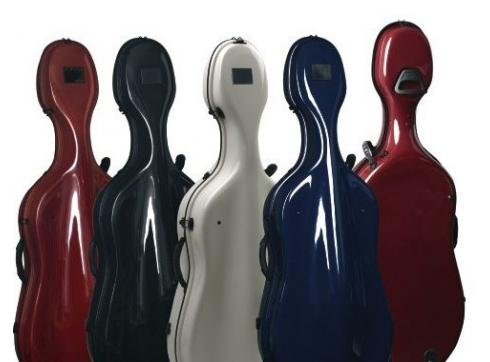 GEWA Celloetui Idea Futura Rolly Nachtblau