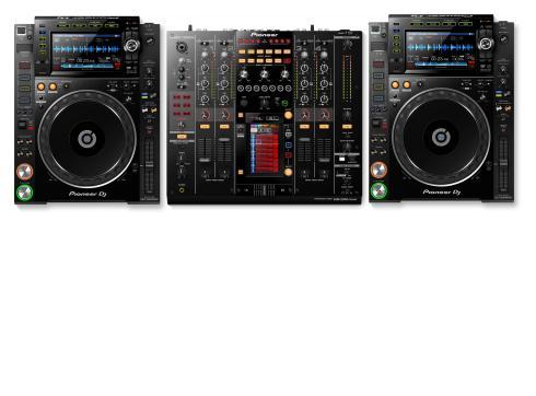 Pioneer 2000 NXS2 Set - 1x DJM-2000 NXS 2x CDJ-2000 NXS2