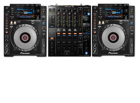 Pioneer 900 NXS2 Set - 1x DJM-900 NXS2 2x CDJ-900 NXS