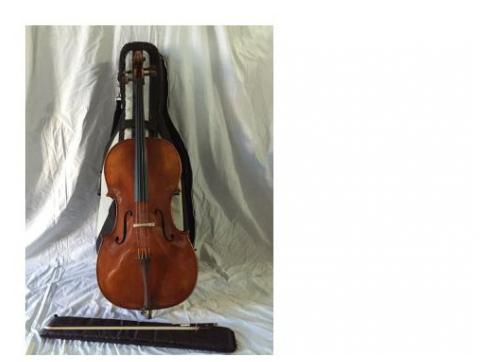 Heinrich Drechsler Konzert Cello inkl. Bogen und Bag - Stockclearing