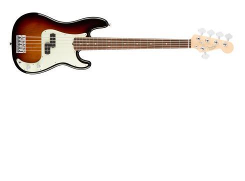 Fender AM Pro Precision Bass V RW 3TS