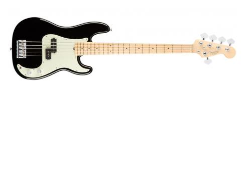 Fender AM Pro Precision Bass V MN BLK
