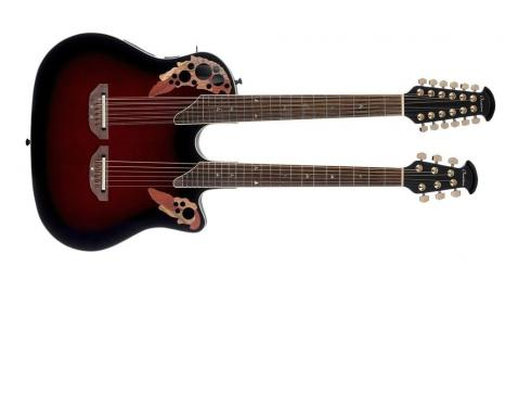 Ovation Elite Double Neck Super Shallow