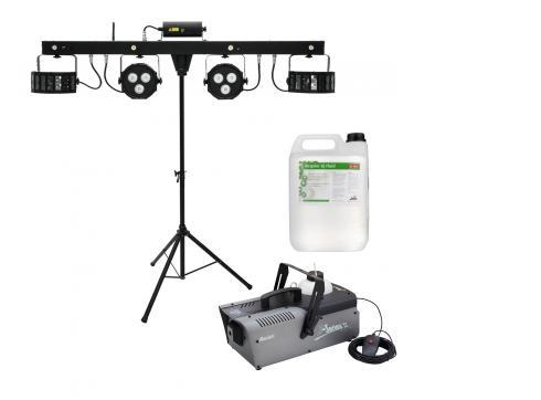 Eurolite Licht Kompaktset 1 - DJ Edition als günstiges Sparset