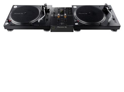 Pioneer PLX Set 1 - 2 x PLX-500-k 1 x DJM-250MK2