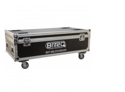 Briteq Flightcase für 8 x BT-Glowbar