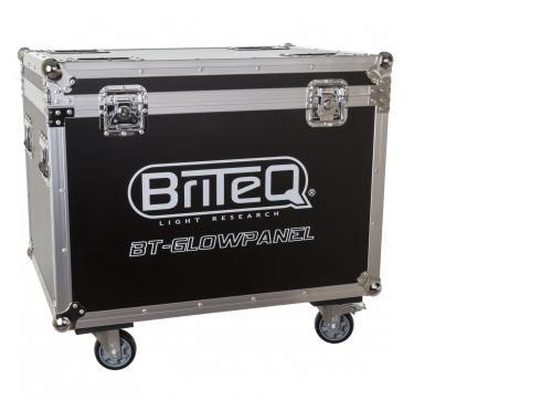 Briteq Flightcase für 6 x BT-Glowpanel