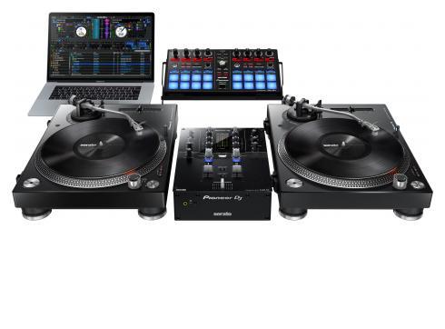 Pioneer S3 Set - 1 x Pioneer DJM-S3 + 2 x Pioneer PLX-500-k + 1 x Pioneer DDJ-SP1