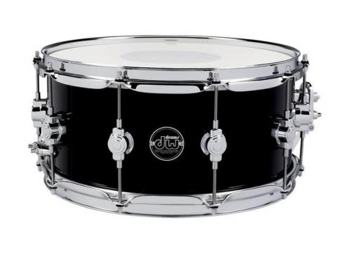 DW Snaredrum Performance Finish Ply Satin Oil Gloss Black